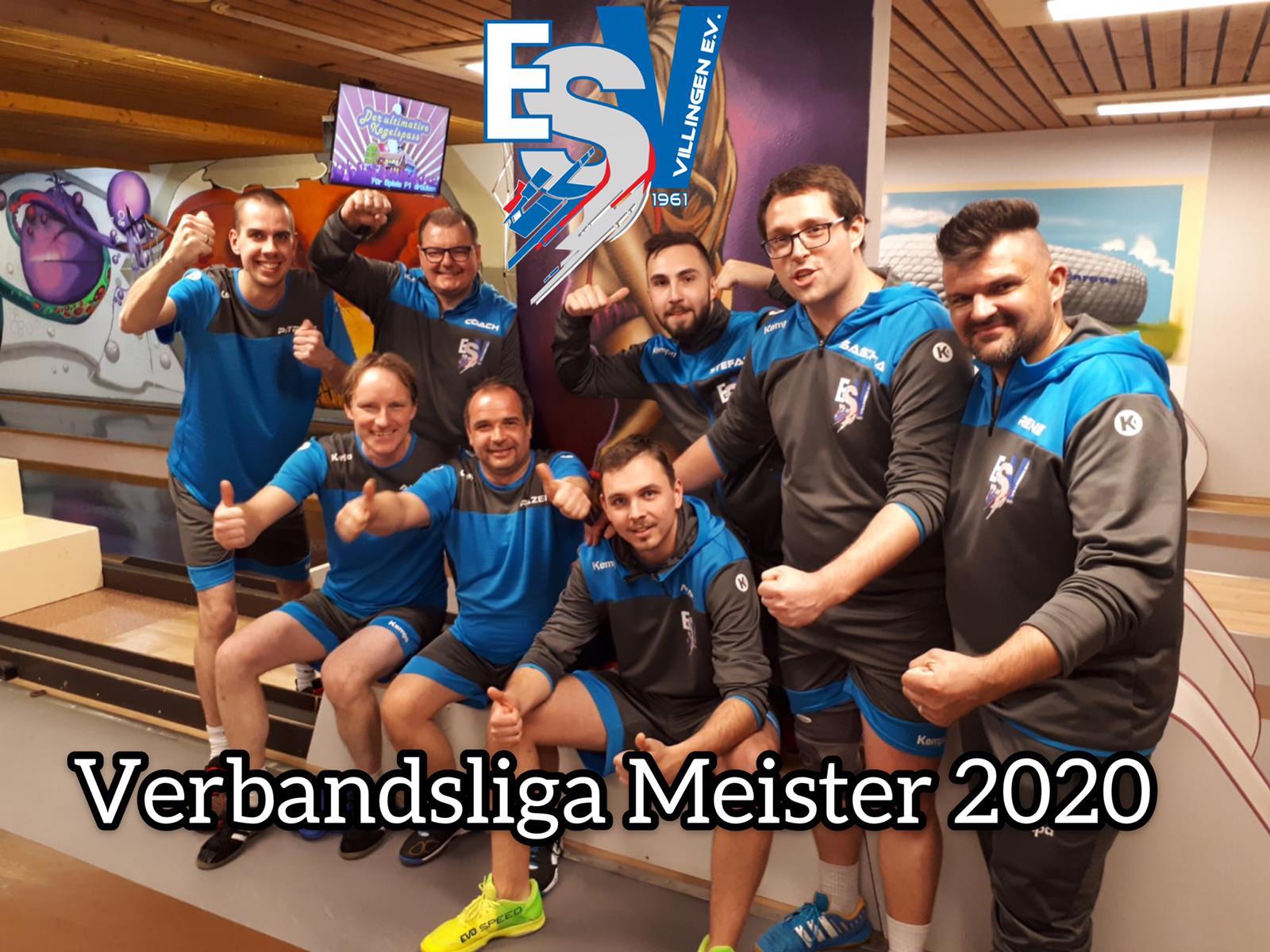 ESV Villingen 1 Und 2 Sind Meister!